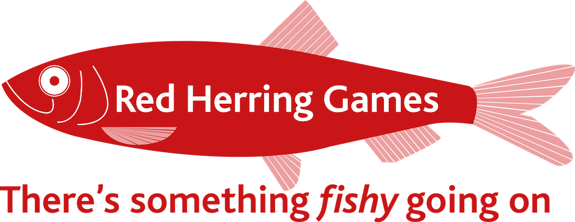 NEWREDHERRING GAMES logo trans copy